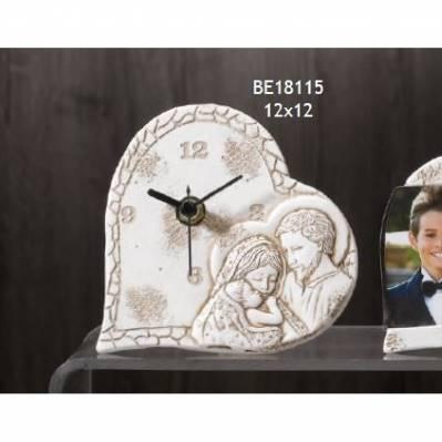 Orologio Comunione con Sacra Famiglia Cecilia