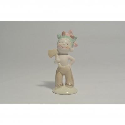 Indiano in ceramica - Collezione 2020