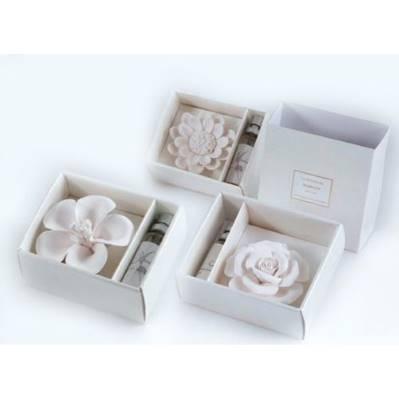 Gesso profumato fiori + kit fragranza - bomboniera matrimonio