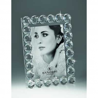 Cornice portafoto in cristallo sfera - RANOLDI