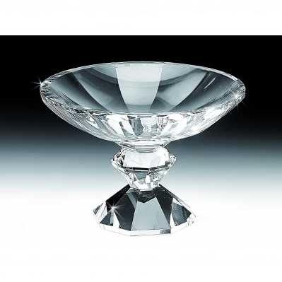 Alzata ciotola in cristallo - RANOLDI