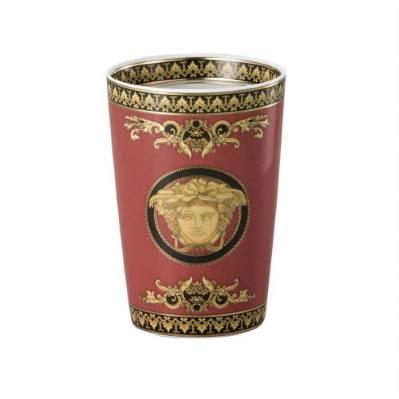 Bicchiere MEDUSA ROSSA 12 cm Rosenthal Versace