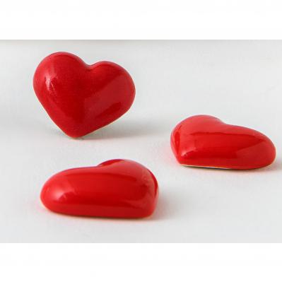 Magnete cuore rosso a calamita