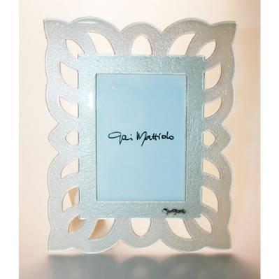 Cornice in vetro brinato - 13x18cm - Gai Mattiolo