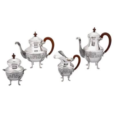 Servizio da caffè stile romano impero