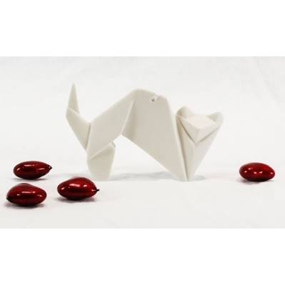 Origami gatto - porcellana