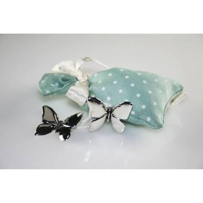Addobbi - Farfalla in argento