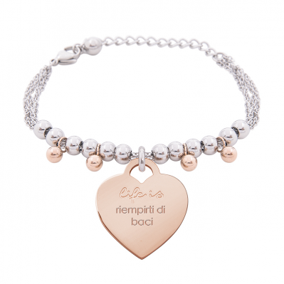Bracciale Life is Love – Riempirti di baci