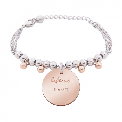 Bracciale Life is Love – TI AMO