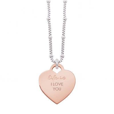 Collana Life is Love – I LOVE YOU