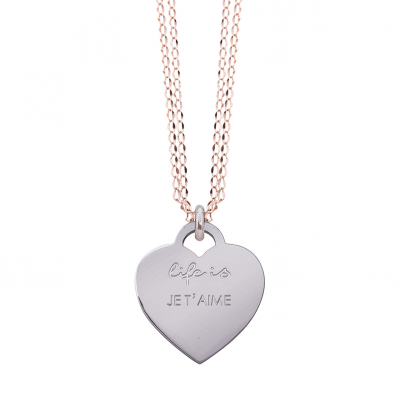 Collana Life is Love – JE T'AIME