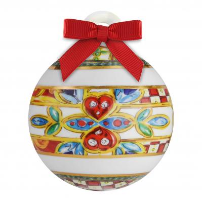 """Decorazione natalizia con Palla di natale 9cm """"Le Gioie"""""""
