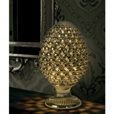 LAMPADA PIGNA ORO H.35
