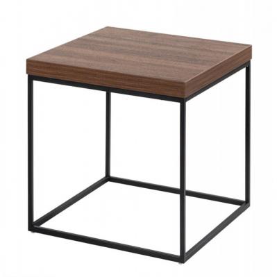 Tavolino Quadrato - Legno Noce