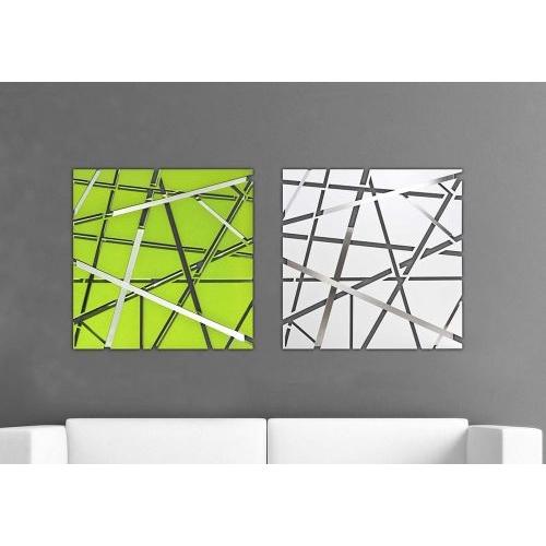 Scultura da parete astratta - Tappeti moderni verde acido ...