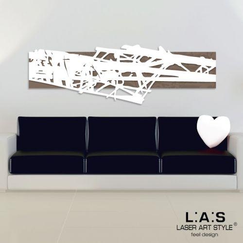 Quadro pannello moderno taglio laser tema astratto in legno for Oggettistica design moderno