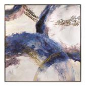 Dipinto su tela con cornice - L'Oca Nera