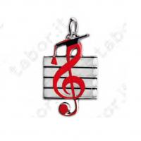 Ciondolo chiave di violino - Bomboniera laurea