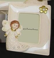 Portafoto verticale con angioletto colorato - Claraluna