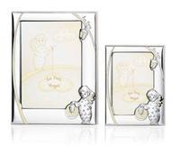 Portafoto con angelo e lanterna (luminescente) - 9x13 cm
