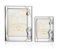 Portafoto con angelo e campanella (luminescente) - 13x18 cm