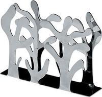 Portatovaglioli in acciaio inox lucido Alessi