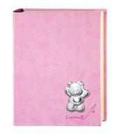 Album portafoto con orsetti e fiorellini in rosa - 23x30cm