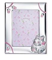 Portafoto 13x18 con scoiattolo e ghianda in rosa