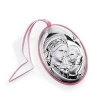 Medaglione in argento - Madonna della seggiola