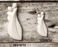 Magnete coppia innamorati in resina - Set 6 pz