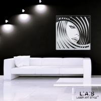 Quadro figurativo dal design moderno - Laser Art Style