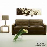 Quadro dal design moderno - Laser Art Style