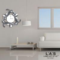 Orologio da muro con decori astratti - Laser Art Style