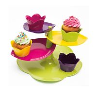 Alzatina Foglie con set piatti | ZAK! Designs