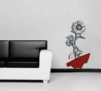 Scultura in stile moderno - Vaso con fiori