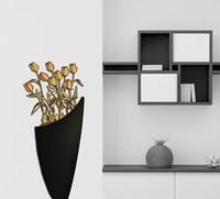 Quadro da bassa parete dal design moderno - Vaso con fiori Laser Art Style
