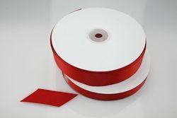 Nastro rigatino rosso - varie larghezze