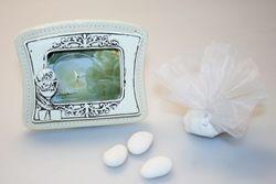 Bomboniera - Portafoto con decorato calice e  saccoccino