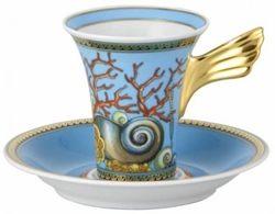 Servizio caffè Rosenthal Versace I tesori del mare