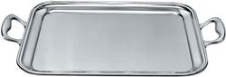 Vassoio rettangolare con manici in acciaio cm.40x32 Alessi