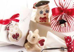 Coccinelle rosse, tocchi e gufi: i simboli per le tue bomboniere di laurea Wald in offerta