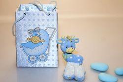 Bomboniera - Scatola portaconfetti con giraffina