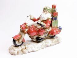Babbo Natale in motocicletta