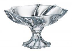 Centrotavola in cristallo Neptune 33 cm