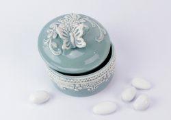 Bomboniera porcellana Scatola portagioie