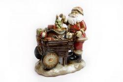 Babbo Natale con carretto