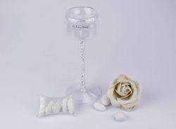 Candeliere Vetro Elegant Claraluna - bomboniera matrimonio 2016