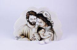 Icona Sacra Famiglia Prima comunione