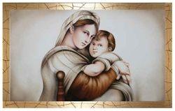 Capezzale - Aerografo Maternità