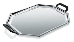 Vassoio ottagonale in acciaio cm.47x32 Alessi
